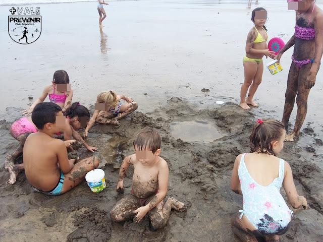 escuela verano playa canteras niños