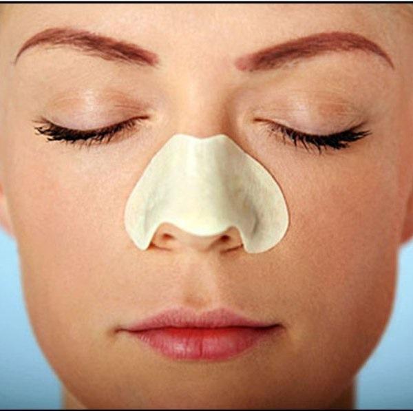 DIY plastry oczyszczające nos