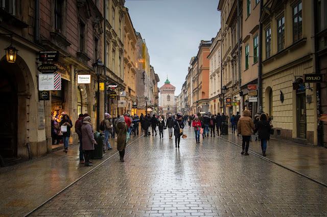 Porta Florianska-Cracovia