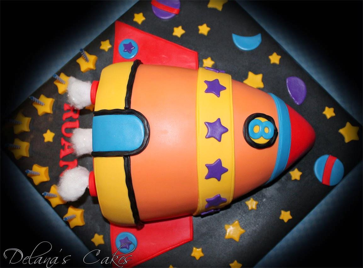 Delana S Cakes Space Rocket Cake