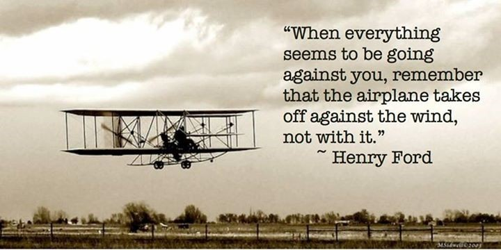 The Aviation Business: Quote by Henry Ford  Henry Ford Quotes Airplane