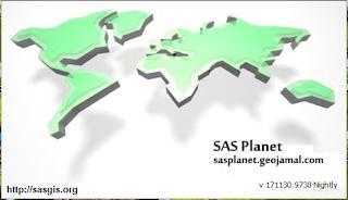 النسخة الأخيرة من برنامج SAS Planet Nightly 171130.9739