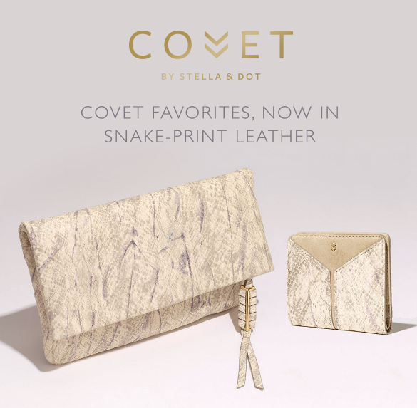 Covet by Stella & Dot Snake Print - New Spring 2017 Arrivals
