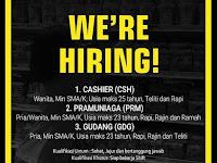 lowongan kerja cashier setiabudhi supermarket