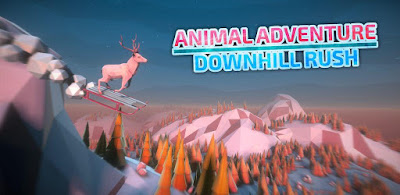 Animal Adventure Downhill Rush MOD (free shopping) APK for Android