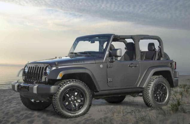 2017 Jeep Wrangler Sport S Compare Specs