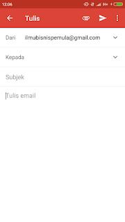 Cara Mengirim Surat Lamaran Kerja lewat Email di HP