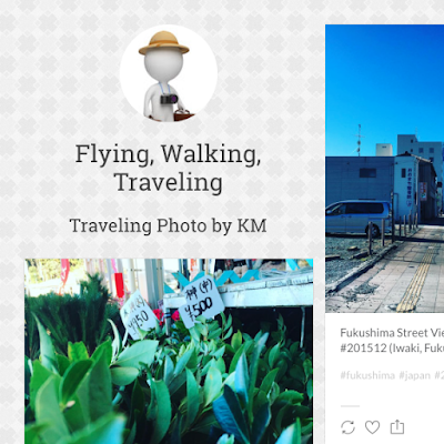 写真ブログサイト「Flying, Walking, Traveling」