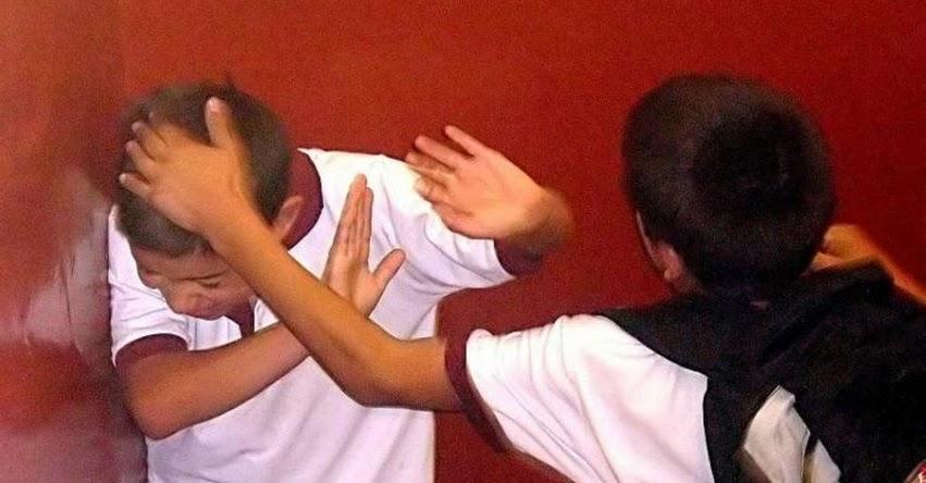 En Perú, 75 de cada 100 escolares han sido víctimas de bullying alguna vez