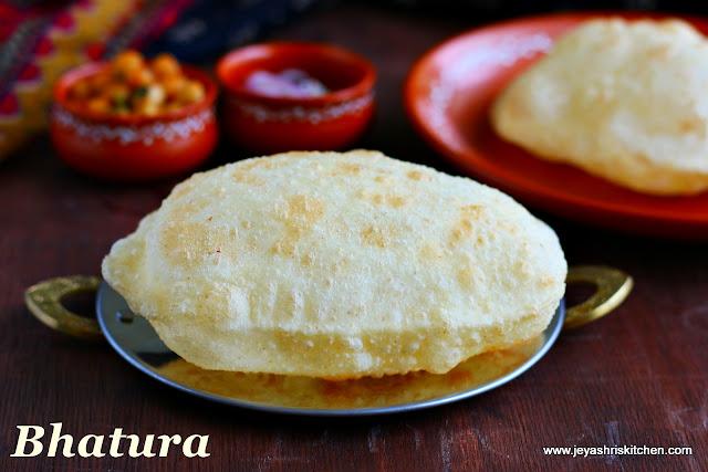 bhatura recipe