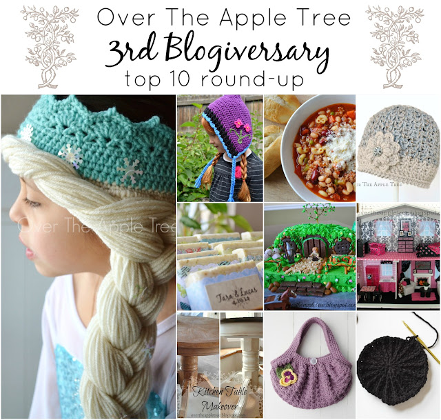 Over The Apple Tree's third blogiversary top 10 round-up