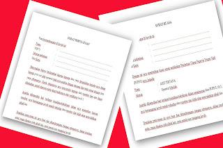 Contoh Surat Kuasa Dan Surat Pernyataan Untuk Entry Data PUPNS tahun 2015