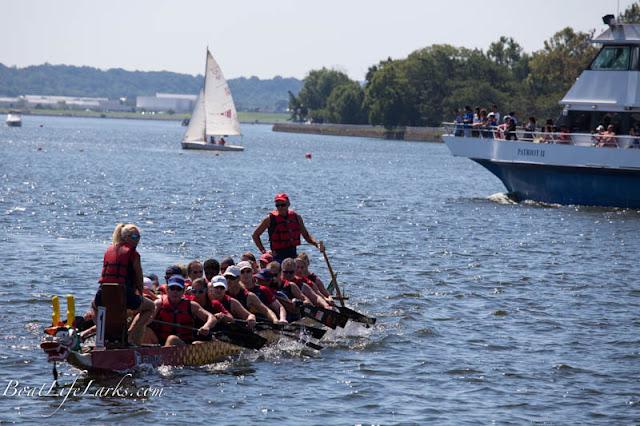 Dragon Boat Racing, Washington Channel