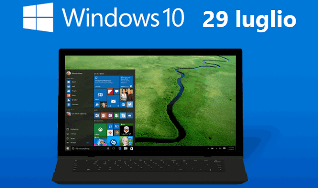 Windows 10 il 29 Luglio 2016 fine aggiornamento gratis