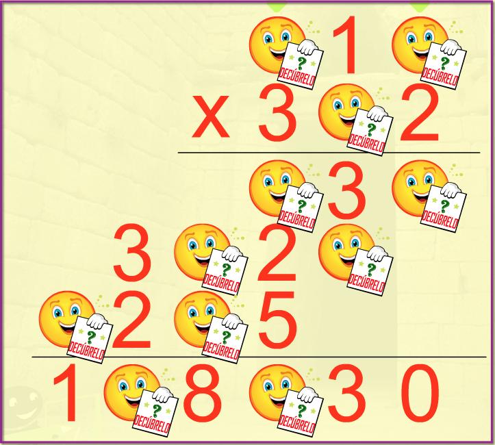 Multiplicaciones incompletas