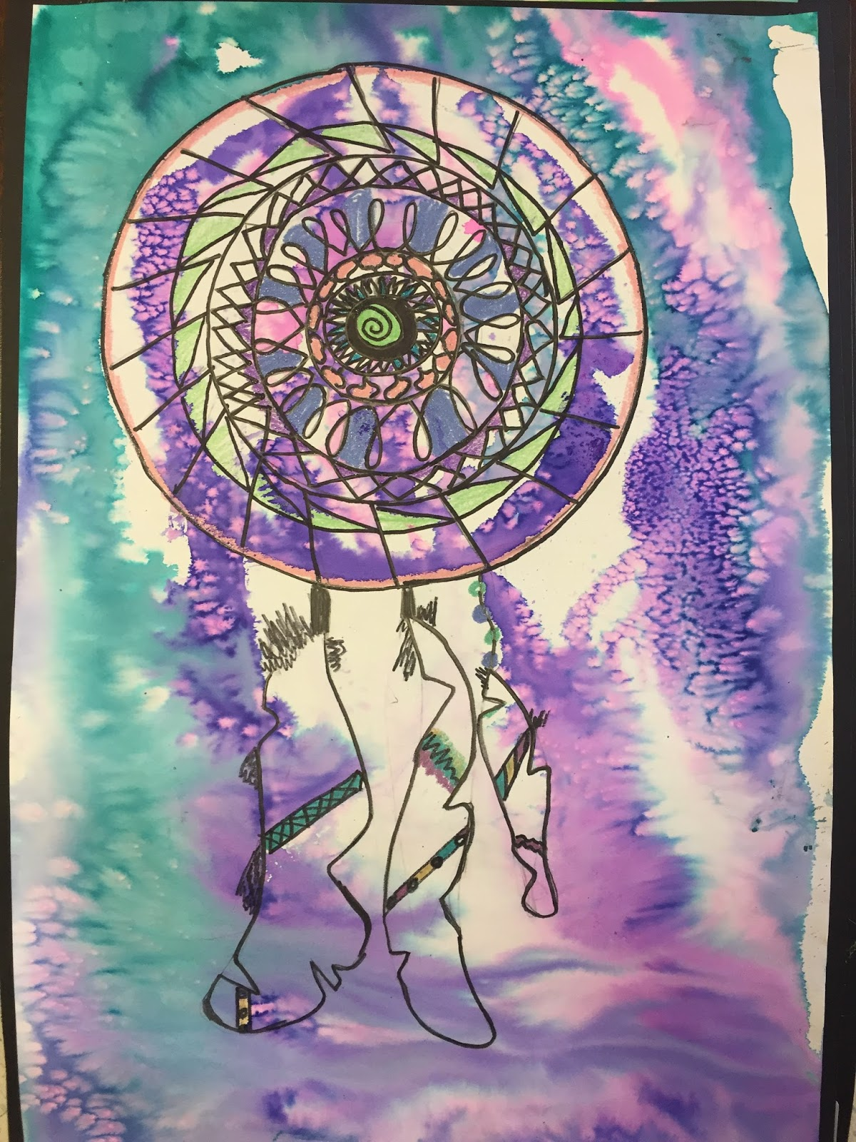 Dream Catcher Art Project