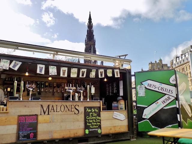Malones Irish bar in Edinburgh