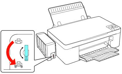 Como eliminar el aire en las mangueras de impresoras Epson