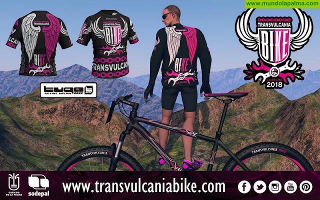 La Transvulcania Bike se viste de gala para su segunda edición con Tuga Active Wear