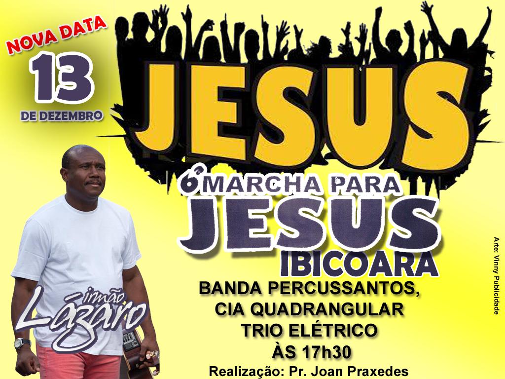 6° Edição da Marcha para Jesus em Ibicoara