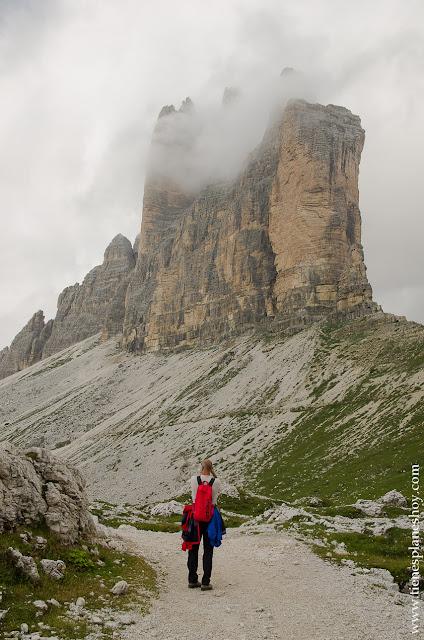 Tres Cimas de Lavaredo Italia senderismo Dolomitas