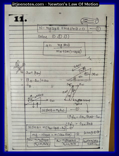 Laws Of Motion Notes 1