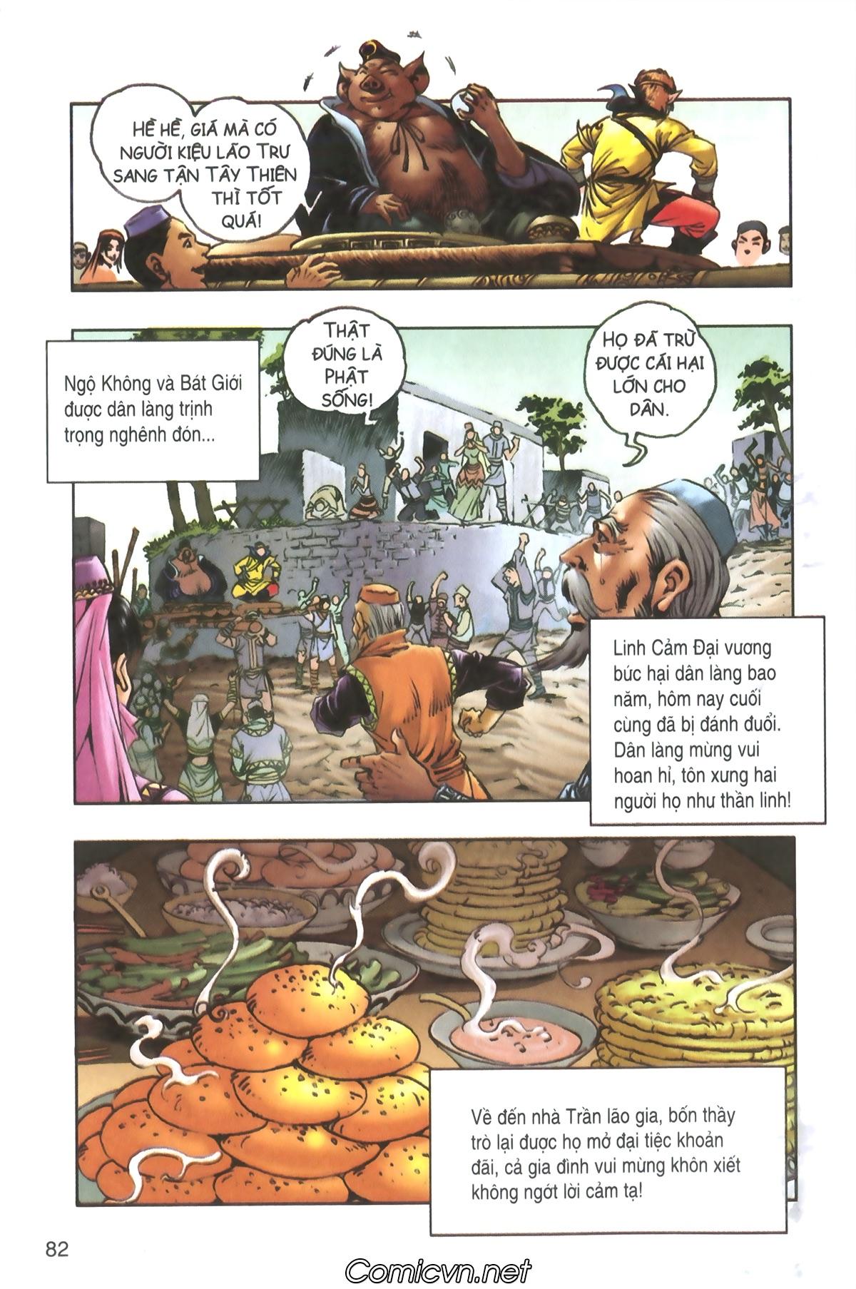 Tây Du Ký màu - Chapter 93 - Pic 19