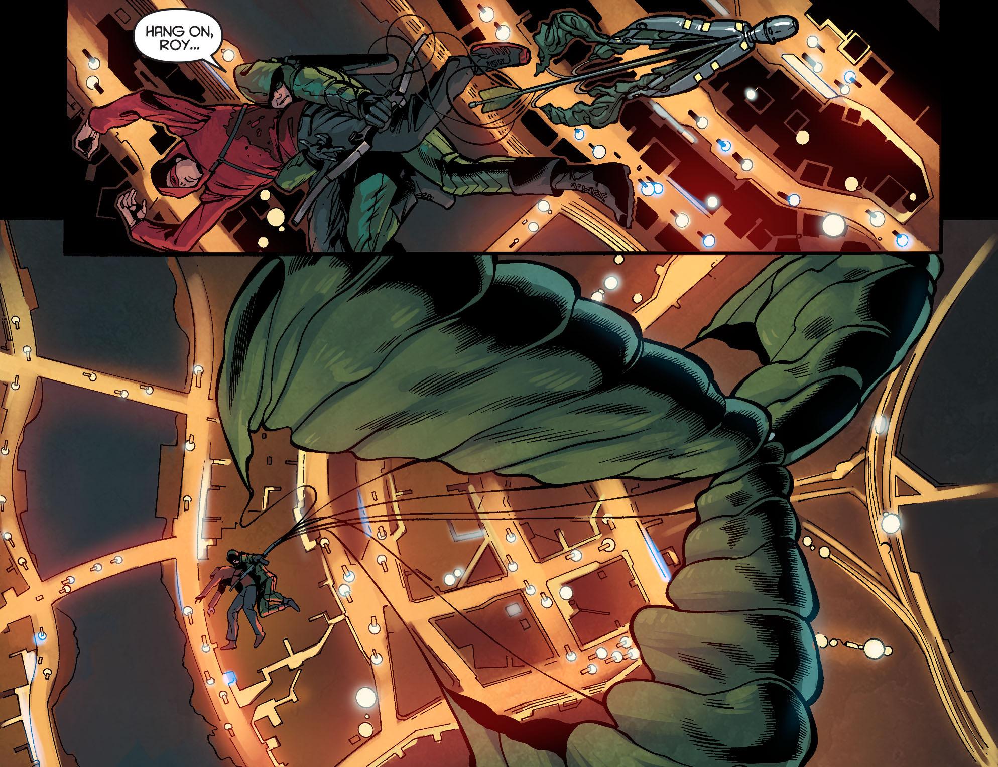 Read online Arrow: Season 2.5 [I] comic -  Issue #2 - 6
