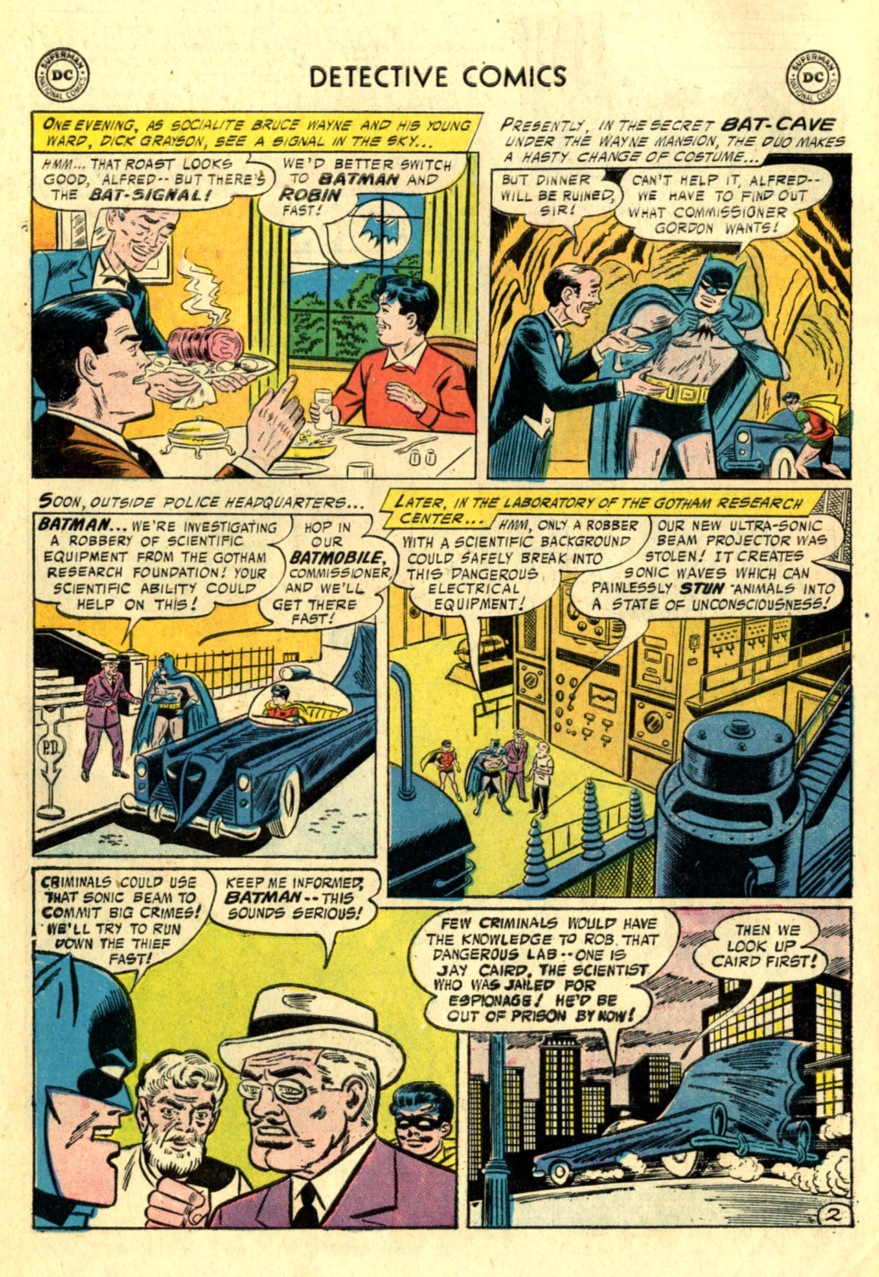 Detective Comics (1937) 234 Page 3
