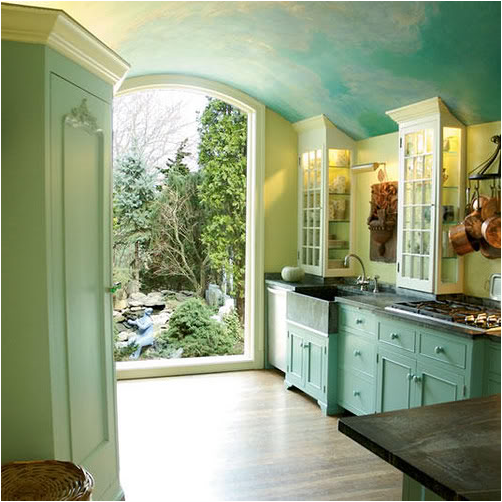 Key Interiors By Shinay: Color Crush-Blue And Green Kitchens