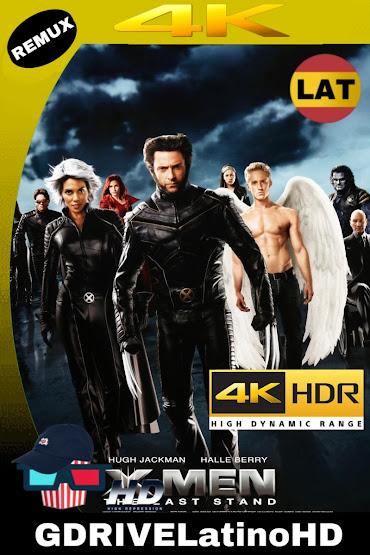 X-Men 3 La Batalla Final (2006) BDRemux 2160P 4K HDR LAT-ING-CAS MKV