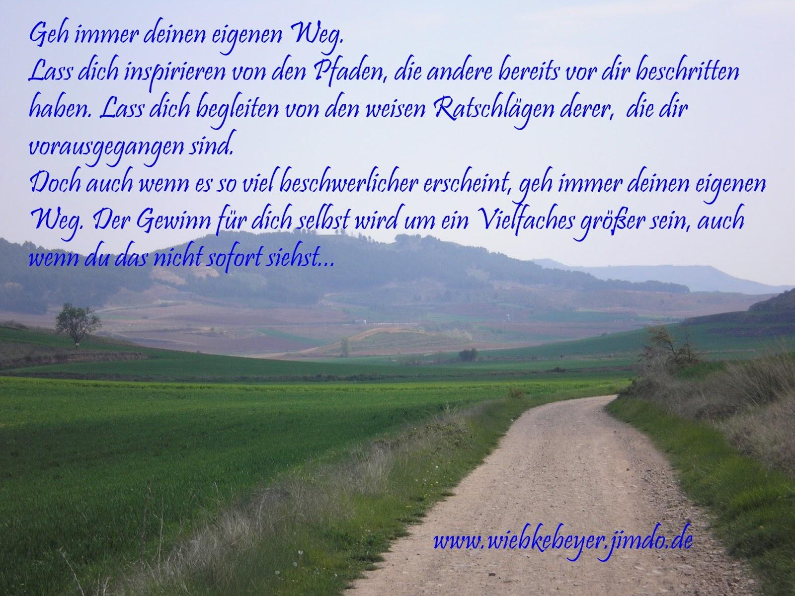 wiebke b. beyer: eigene wege gehen