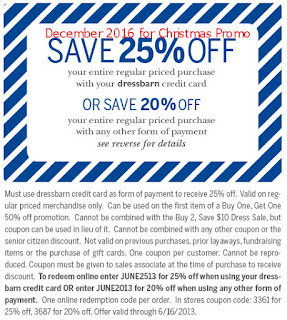 free Dress Barn coupons for december 2016