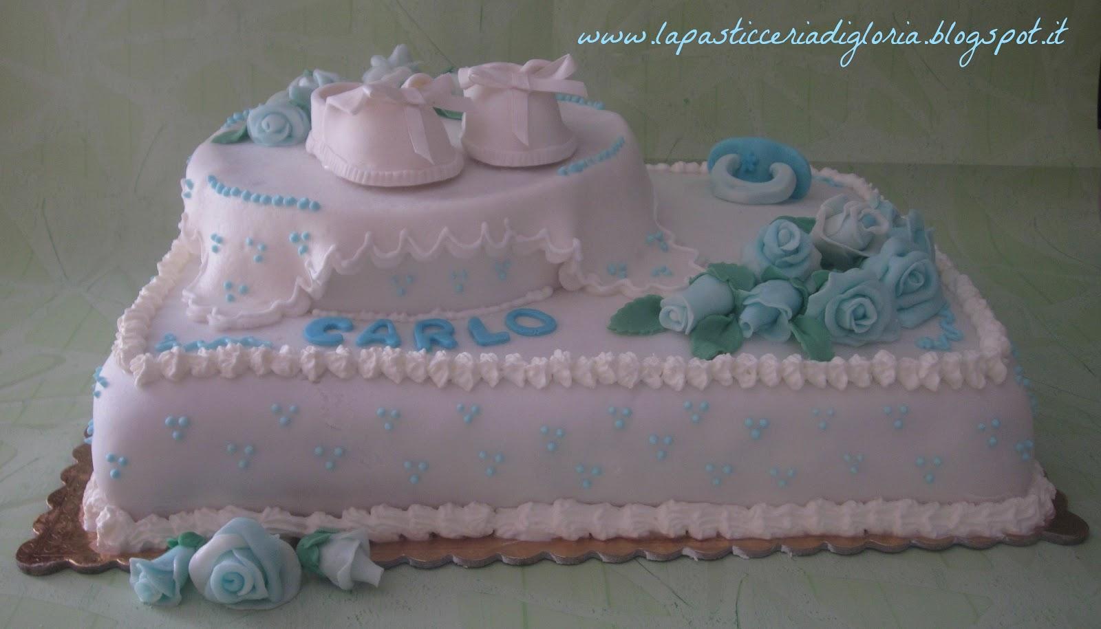 Top La pasticceria di Gloria: Torta per un dolce battesimo EL14