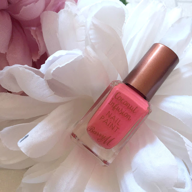 Barry M Coconut Infusion Nail Polishes