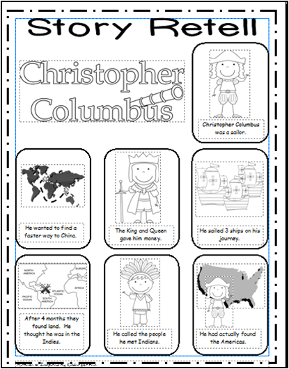 Inspired by Kindergarten: Columbus Day