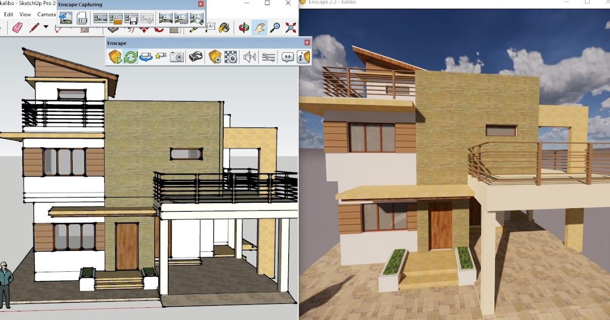 Enscape Architectural Real Time Rendering Plugin For Revit