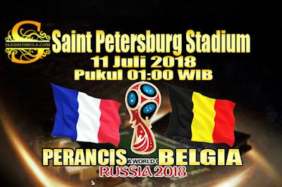 JUDI BOLA DAN CASINO ONLINE - PREDIKSI PERTANDINGAN PIALA DUNIA 2018 PERANCIS VS BELGIA 11 JULI 2018