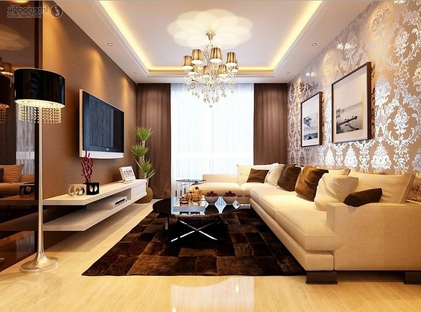 Hiasan Ruang Tamu Mewah | Desainrumahid.com