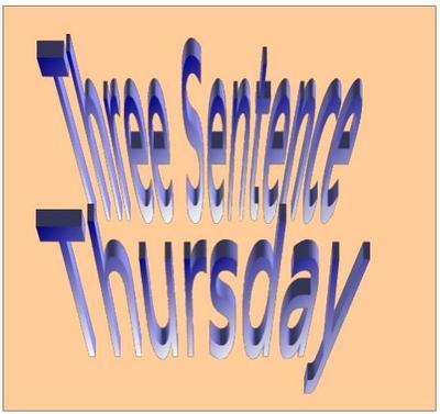 Three Sentence Thursday Banner