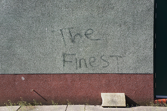 urban photography, concrete wall, graffiti, photo, the finest, Sam Freek,
