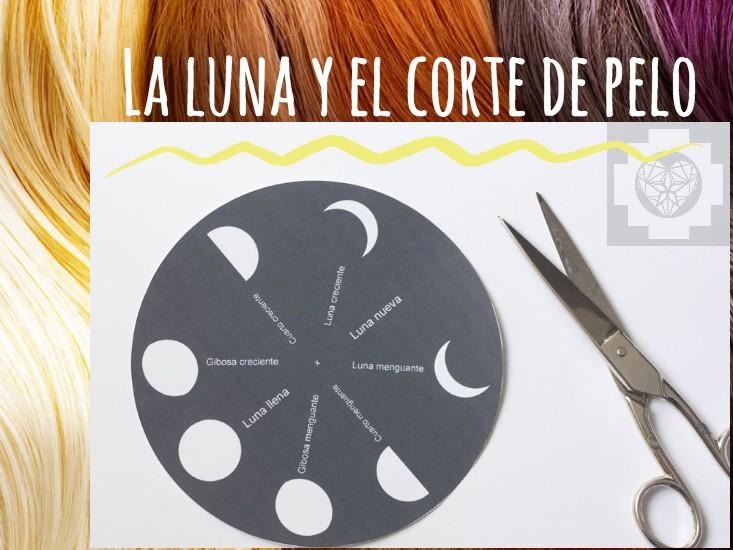 Corte de pelo con fases lunares