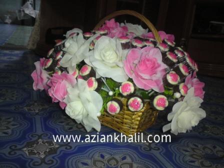 Coklat Gubahan Bunga utk Siti
