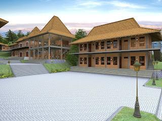 Jasa Gambar Pondok Pesantren Minimalis  Bangkalan 2020