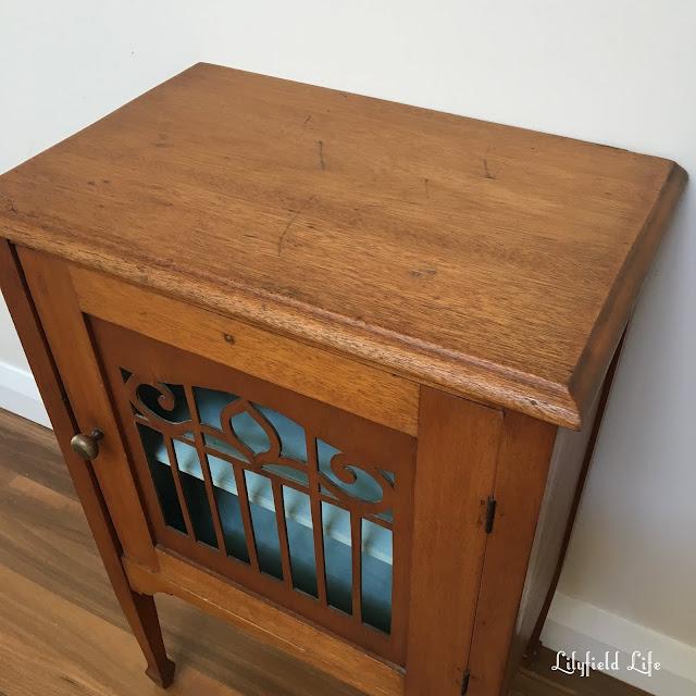 vintage oak cabinet Lilyfield Life