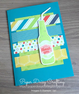 Bubbles and Fizz Designer Series Paper Stampin' Up!