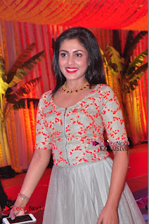 Actress Madhu Shalini Exclusive Stills in Party Dress at Vijay Karan Aashna Wedding  0046.JPG