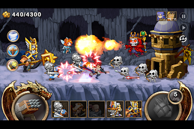 Kingdom Wars Mod v1.1.4 Apk Terbaru Unlimited Gold + Diamond