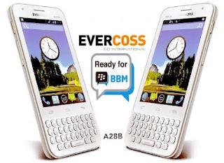 Hp Android Qwerty Dibawah 1 Juta Evercoss A28B