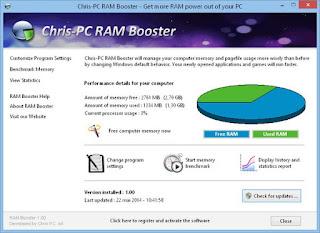 Chris-PC RAM Booster 4.50 Full Version